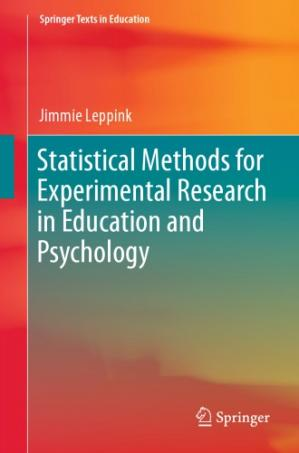 Book cover Statistical Methods for Experimental Research in Education and Psychology