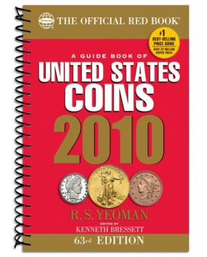 Book cover A guide book of United States coins 2010