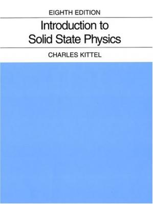 पुस्तक कवर Introduction to Solid State Physics