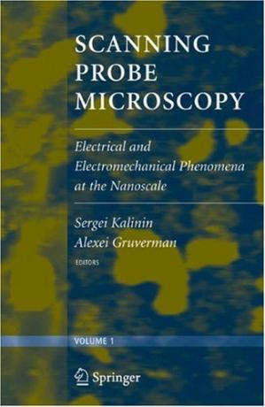 Book cover Scanning Probe Microscopy (2 vol. set): Electrical and Electromechanical Phenomena at the Nanoscale