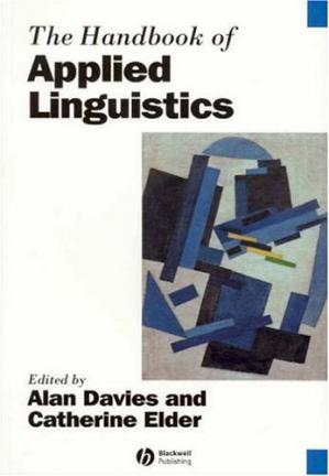 Book cover The Handbook of Applied Linguistics