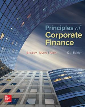 Okładka książki Principles of Corporate Finance