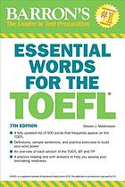 Book cover Essential Words for the TOEFL