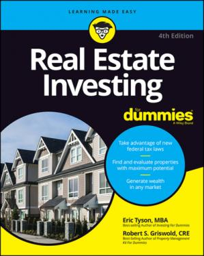 Book cover Real Estate Investing For Dummies®, 4th Edition