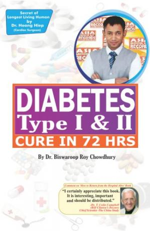 Book cover How-to-cure-diabetes-type-I-II-within-72-hrs by Biswaroop Roy Chowdhury