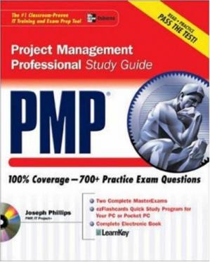Book cover PMP Project Management Professional Study Guide