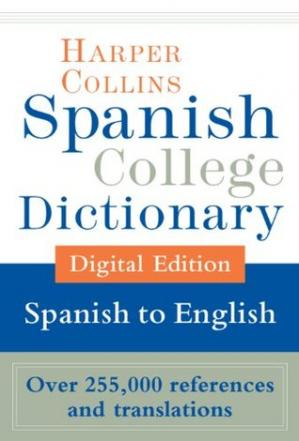 Copertina HarperCollins Spanish-English College Dictionary (Harper Collins Spanish College Dictionary)