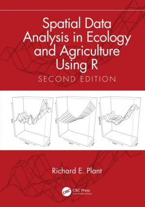 पुस्तक कवर Spatial Data Analysis in Ecology and Agriculture Using R