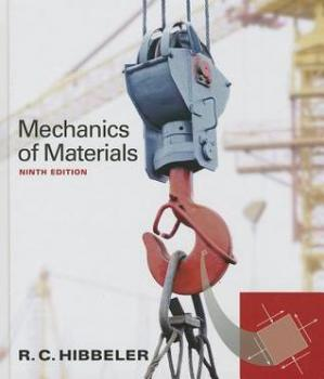 Обкладинка книги Mechanics of Materials - 9th Edition + Solutions Manual