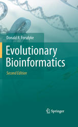 Kitabın üzlüyü Evolutionary Bioinformatics