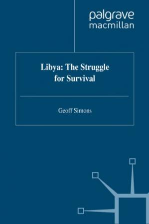 Book cover Libya: The Struggle for Survival