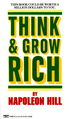 Book cover Think and Grow Rich