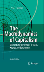 A capa do livro The Macrodynamics of Capitalism: Elements for a Synthesis of Marx, Keynes and Schumpeter