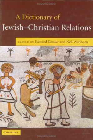 पुस्तक कवर A Dictionary of Jewish-Christian Relations