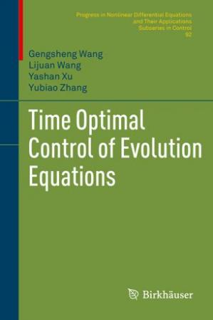 पुस्तक कवर Time Optimal Control of Evolution Equations