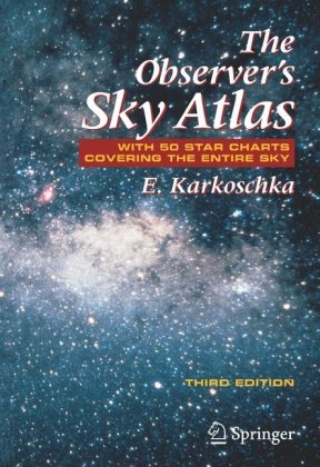 ปกหนังสือ The Observer's Sky Atlas - With 50 Star Charts Covering The Entire Sky