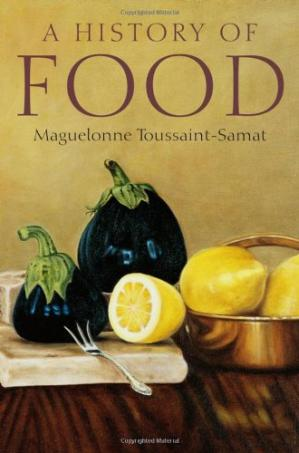 Book cover History of Food