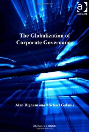 Book cover The Globalization of Corporate Governance