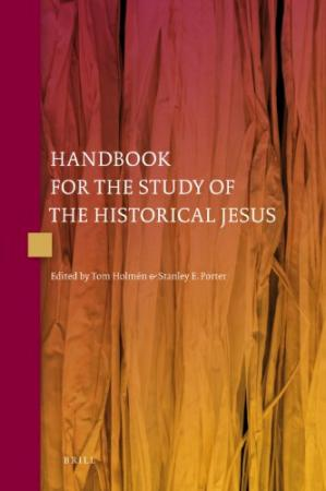 Copertina Handbook for the Study of the Historical Jesus