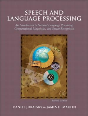 Book cover Speech and Language Processing