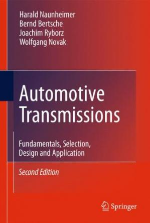 Book cover Automotive Transmissions: Fundamentals, Selection, Design and Application
