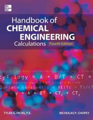غلاف الكتاب Handbook of Chemical Engineering Calculations, Fourth Edition