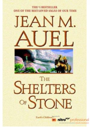 A capa do livro The Shelters of Stone