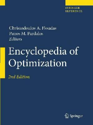Book cover Encyclopedia of Optimization