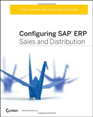 Обкладинка книги Configuring SAP ERP Sales and Distribution