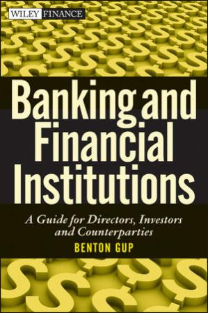 Buchdeckel Banking and Financial Institutions: A Guide for Directors, Investors, and Counterparties