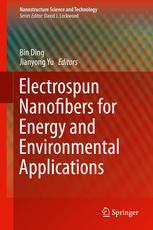 Обложка книги Electrospun Nanofibers for Energy and Environmental Applications