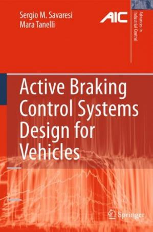 Book cover Active Braking Control Systems Design for Vehicles