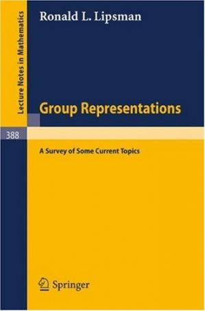 书籍封面 Group Representations