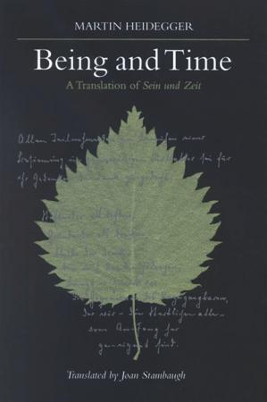Book cover Being and Time: A Translation of Sein und Zeit
