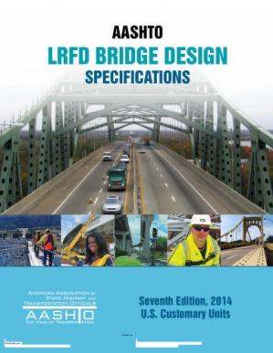 Book cover LRFD Bridge Design Specifications