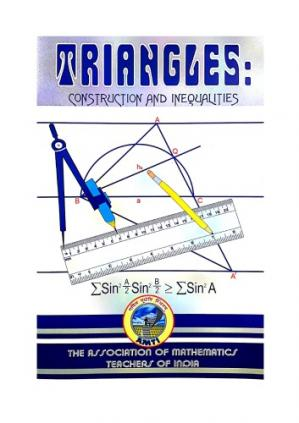 Buchdeckel AMTI Triangles Construction and Inequalities for Math Olympiad Foundation PRMO RMO INMO IMO by Arvind Subramanian Dr. S Muralidharan