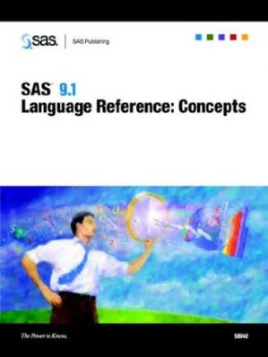 Book cover SAS 9.1 Language Reference: Concepts
