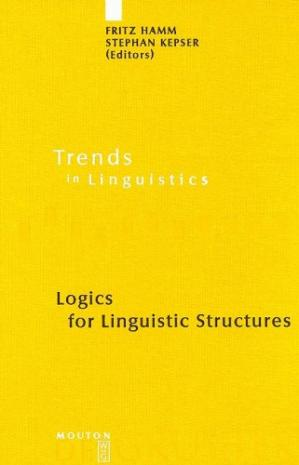 Book cover Logics for linguistic structures