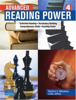 Գրքի կազմ Advanced Reading Power: Extensive Reading, Vocabulary Building, Comprehension Skills, Reading Faster