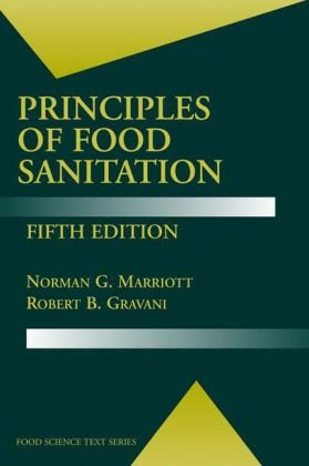 Copertina Principles of Food Sanitation