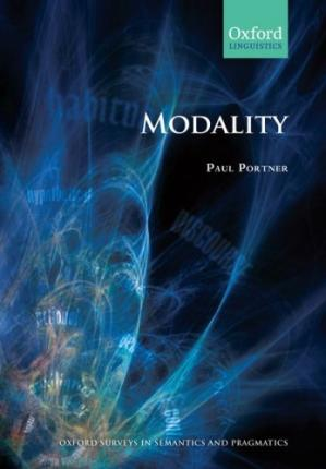 A capa do livro Modality (Oxford Surveys in Semantics and Pragmatics)