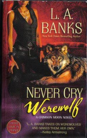 Sampul buku Never Cry Werewolf