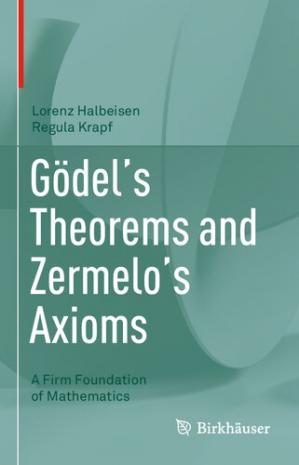 Book cover Gödel's Theorems and Zermelo's Axioms