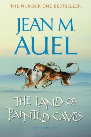 A capa do livro The Land of Painted Caves