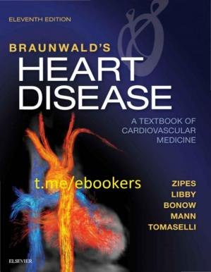 Εξώφυλλο βιβλίου Braunwald's Heart Disease: A Textbook of Cardiovascular Medicine
