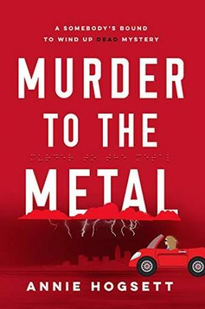 Book cover Murder to the Metal