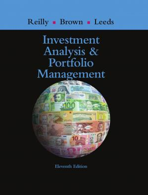 Book cover Investment Analysis and Portfolio Management