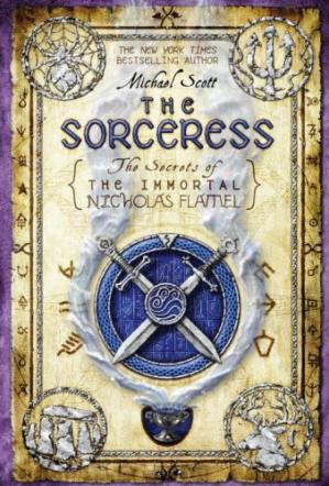 Copertina The Sorceress (The Secrets of the Immortal Nicholas Flamel)