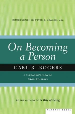 Book cover On Becoming a Person: A Therapist's View of Psychotherapy