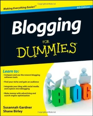 Book cover Blogging For Dummies